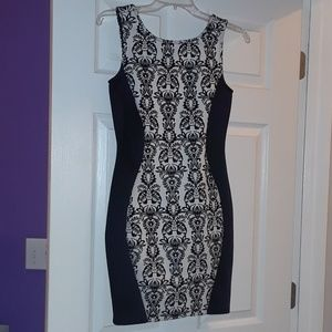 Cocktail dress form-fitting small